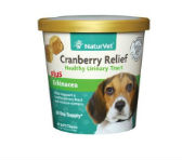 NaturVet Cranberry Relief Plus Echinacea Soft Chews for Dogs