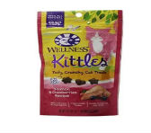 Wellness Kittles Grain Free Natural Cat Treats Made in USA Only Salmon Cranberries