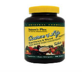 NATURES PLUS SOURCE OF LIFE MULTI-VITAMIN AND MINERAL SUPPLEMENT NO IRON <br /> ('PABA' 함유)