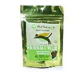 Hairball Relief Plus 45 Soft <br /> Chew Tablets By Pet Naturals <br /> Of Vermont