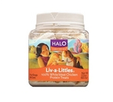 Halo, Purely For Pets Liv-A-<br /> Littles Chicken Treat