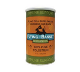 100% Pure Colostrum 228 grams <br /> Pwdr by Flying Basset