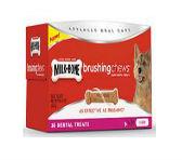Milk-Bone Brushing Chews Daily Dental Treats, Mini Value Pack