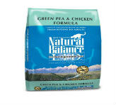 Natural Balance Dry Cat Food, Limited Ingredient Grain Free Pea and Chicken Recipe
