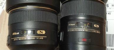 니콘 DSLR 렌즈 후드