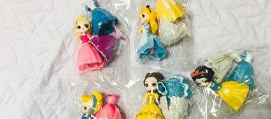 디즈니 클럽 인형세트