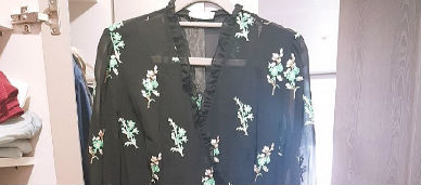 산드로 롱랩 드레스