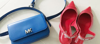 마이클코어스 신발과 가방